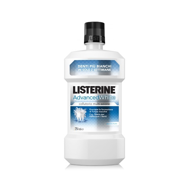 -*LISTERINE ADVANCE WHITE 250ML