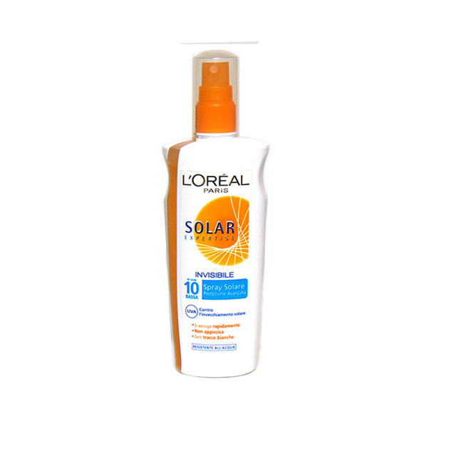 L'OREAL SPRAY SOLARE SPF10 200ML