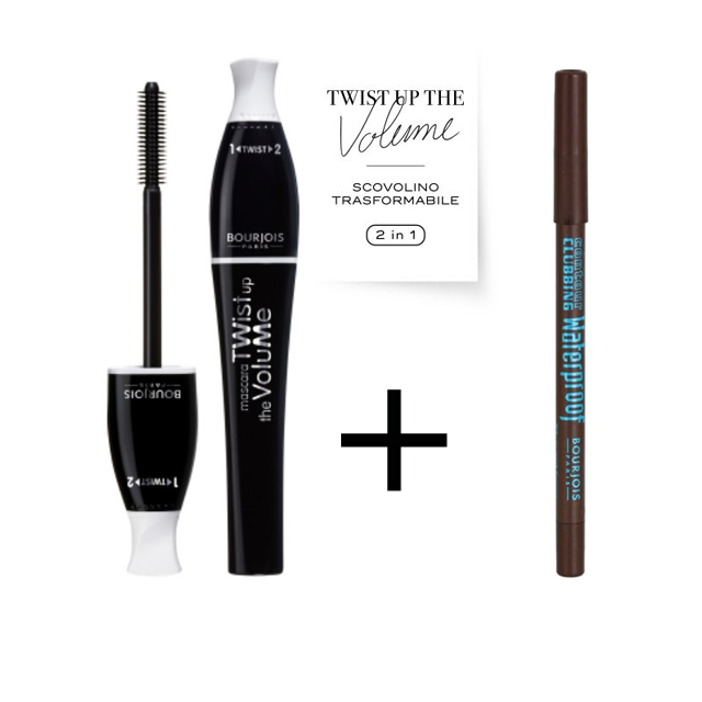 BJ MASCARA TWIST BLACK+MAT.MARRONE