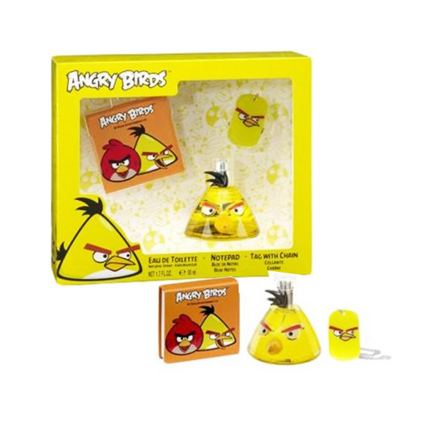ANGRY BIRDS YELLEOW DT50+NOTE+CION