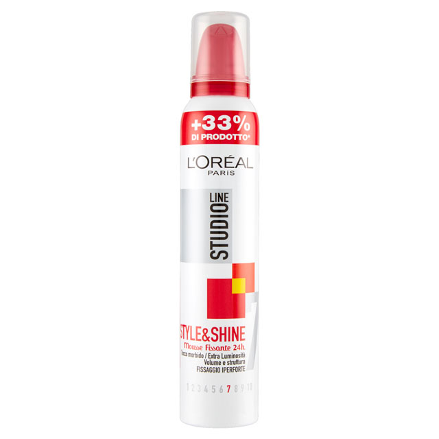 -*STUDIO LINE SPUMA IPER 200ML