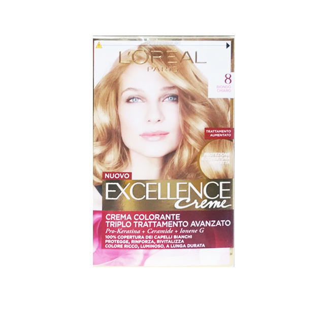 -*L'OREAL EXELLENCE C/COL.8