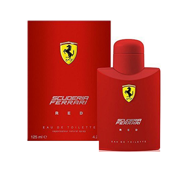 -FERRARI SCUDERIA RED H EDT 125ML
