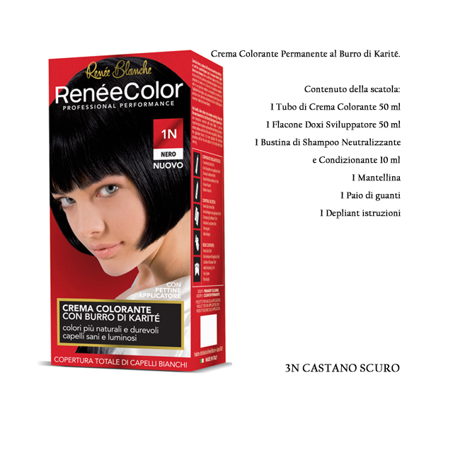 -*RENEE COLOR 3N CASTANO SCURO