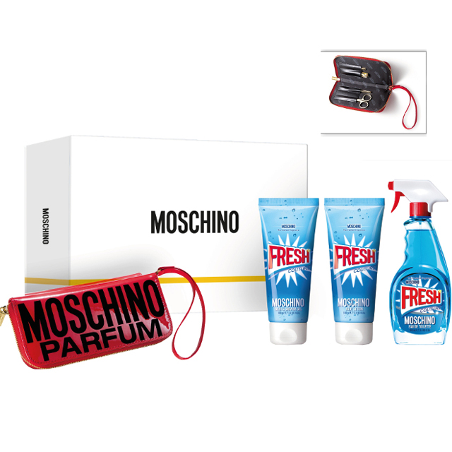 MOSCHINO FRESH D EDT100+LC+BS+MANIC