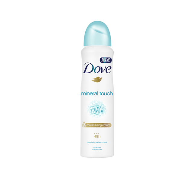 -*DOVE MINERAL TOUCH DEO 150ML SP