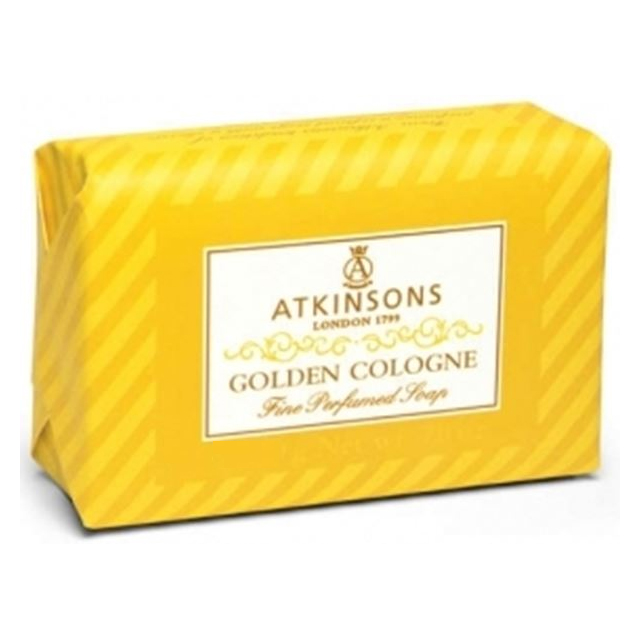 ATKINSONS GOLDEN COLOGNE SAPONE125G