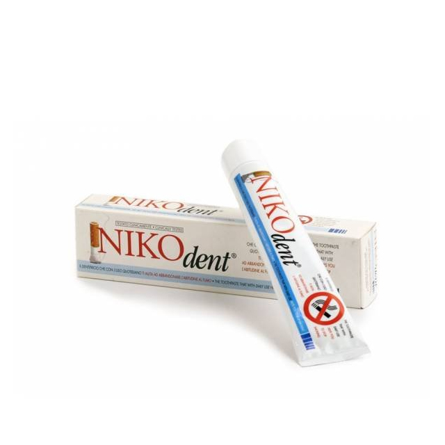 NIKODENT DENTIFRICIO NO FUMO 75ML